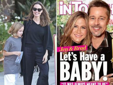 Ngôi sao 24/7: Đây là phản ứng của Angelina Jolie trước tin Brad Pitt có con với vợ cũ