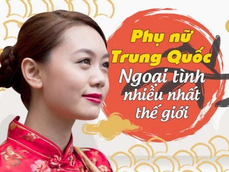 """Phụ nữ Trung Quốc """"cắm sừng"""" chồng nhiều nhất thế giới vì không dám ly hôn?"""
