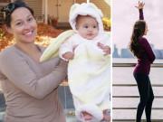Sau sinh nặng gần 1 tạ, mẹ 2 con tiết lộ bí quyết giảm cân bất ngờ