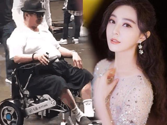 Người đàn ông bị đồn khiến Phạm Băng Băng có con rơi giờ ngồi xe lăn đi chợ