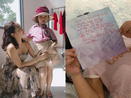 Làm mẹ - Con gái vừa vào lớp mới đã được bạn gửi thư, Phạm Quỳnh Anh đọc xong thì... ngã ngửa