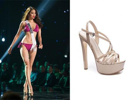 Đã là Hoa hậu, nhất định phải có đôi giày cao gót giá 2 triệu đồng này!