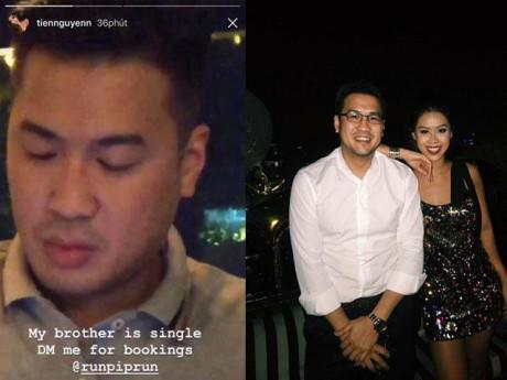 """Em chồng Tăng Thanh Hà gây xôn xao khi đăng tin """"tuyển vợ"""" hộ anh trai"""