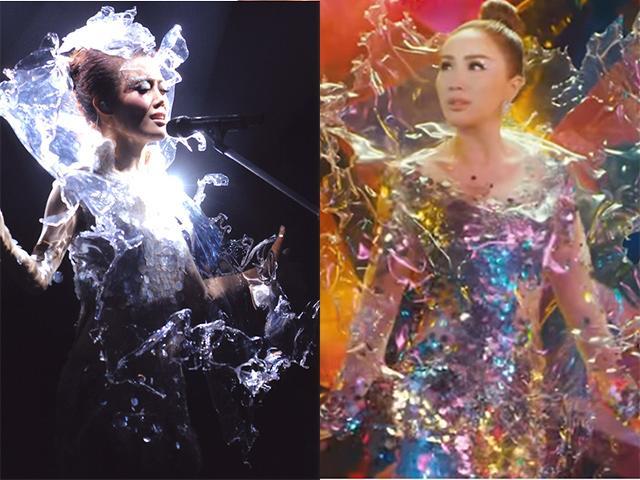 Bảo Thy vướng nghi vấn diện bản lỗi chiếc váy gắn liền với tên tuổi nữ Diva Hong Kong