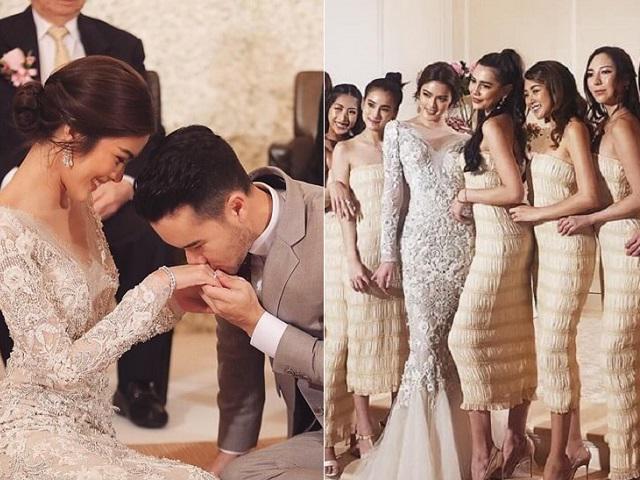 Dàn phù dâu cực phẩm trong một đám cưới làm chao đảo mạng xã hội