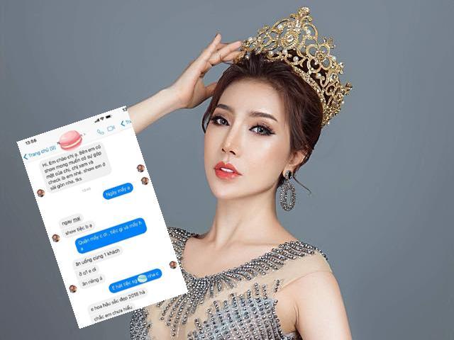 Được mời ăn tối với giá 12.000USD, Hoa hậu Hoàng Y Nhung đáp trả thế này!