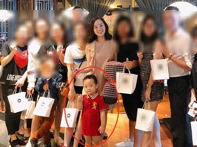 Ly Kute khoe ảnh xinh đẹp 20/10 nhưng chi tiết hài hước của con trai khiến dân mạng chú ý