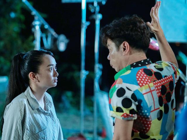 Lớn tiếng trả treo, Kaity Nguyễn bị Thái Hòa tức giận tát sấp mặt