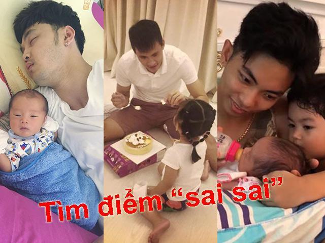 Những bức ảnh khiến sao Việt bị chê không biết chăm con, Thủy Tiên, Khánh Thi cũng không thoát