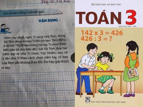 """Bài toán lớp 3 """"Chọn tay có kẹo"""" dạy trẻ lừa lọc, gian dối?"""