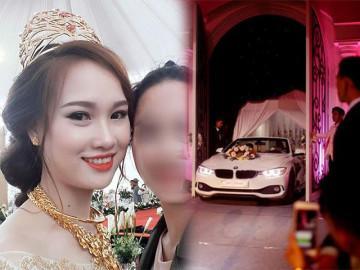 """5 đám cưới tiêu """"tiền khủng"""" nhất VN: Siêu xe đón dâu, mẹ chồng tặng vương miện 100 cây vàng"""