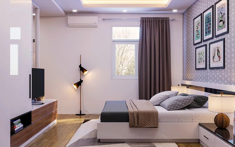 1. Cửa phòng ngủ đối diện cửa phòng tắm/nhà vệ sinh  Phòng ngủ kiểu này chủ yếu gây ra các bệnh về xương khớp, cơ bắp và cũng khiến tiền bạc bị thất thoát.