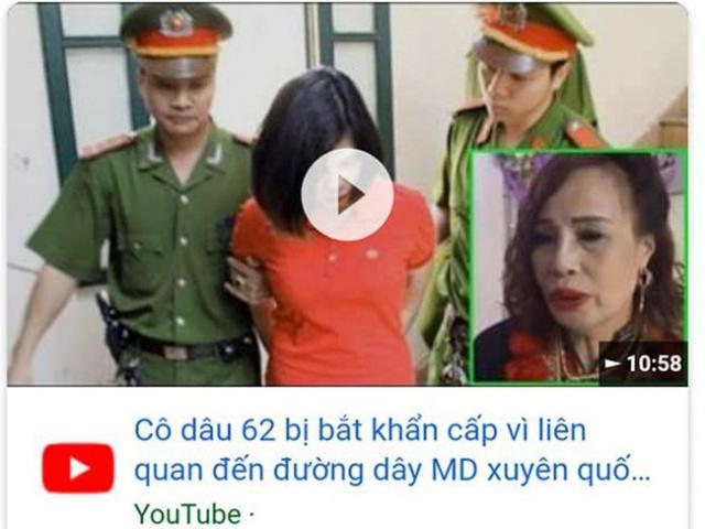 Cô dâu 62 tuổi phản pháo trước thông tin bị bắt khẩn vì liên quan đến đường dây MD