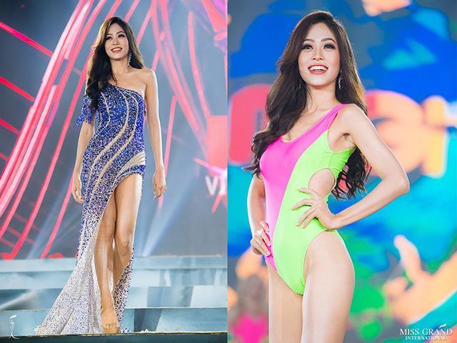 Á hậu Phương Nga ghi điểm nhờ yếu tố này trong bán kết Miss Grand International 2018