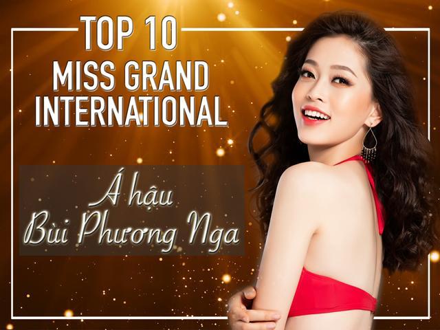 Cú lội ngược dòng ngoạn mục của Á hậu Phương Nga tại Miss Grand International 2018!