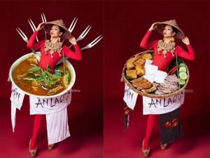 Niềm cảm hứng cho cộng đồng mạng những ngày qua: Bộ quốc phục bánh mì của H' Hen Niê!