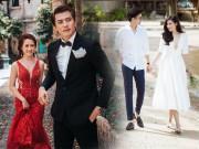 """Giải trí - Không chỉ Hà Việt Dũng, những sao Việt này cũng """"cưới liền tay"""" chỉ sau vài tháng yêu"""