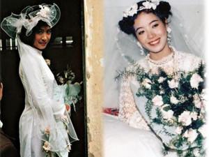 Thật bất ngờ khi phụ nữ Việt xưa mặc váy cưới cầu kỳ, phụ kiện đẹp như Hoàng gia Anh