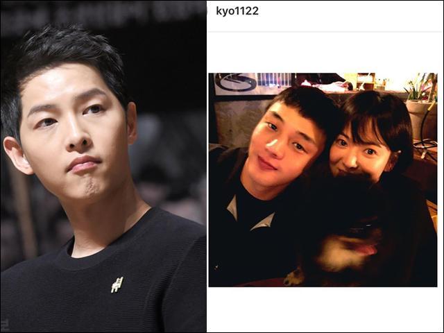 Bỏ rơi Song Joong Ki, người đàn ông Song Hye Kyo hay khoe ảnh chụp cùng là anh chàng khác
