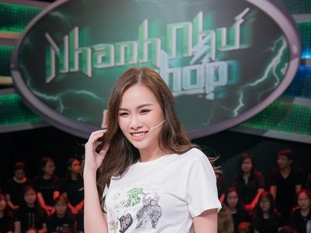 Á hậu siêu vòng 3 khiến Trường Giang bị đồng nghiệp nhắc khéo chuyện mới cưới vợ