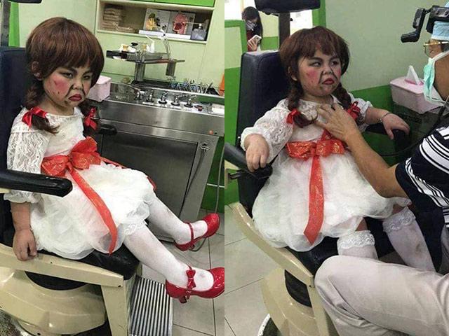 Khi con muốn bố hoá trang Halloween thật ngầu: Dân tình cười bò Trông cũng tội mà thôi cũng kệ