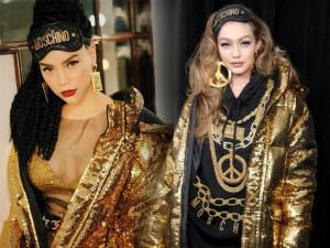 Hồ Ngọc Hà đeo đồ bịt mắt ra đường giống hệt như siêu mẫu Gigi Hadid