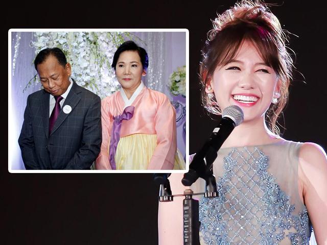 Nhìn Hari Won luôn vui cười, ít ai biết hoàn cảnh gia đình cô: Bố vẫn đang phải chạy thận