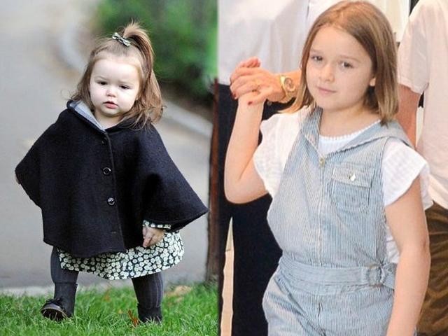 Không còn là cục kẹo bé nhỏ, Harper Beckham giờ lớn bổng sắp thành thiếu nữ
