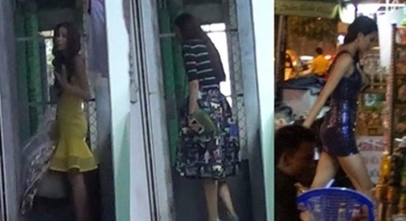 6. Phạm Hương  Lập nghiệp tại Sài Gòn, nàng hoa hậu gốc Hải Phòng từng phải ở những căn nhà thuê đơn giản để làm nơi trốn đi về.