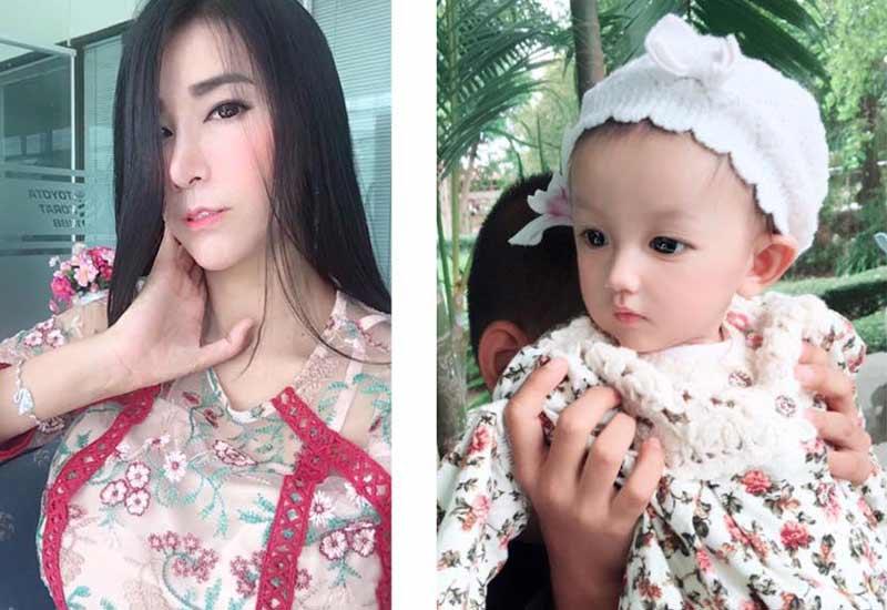 Ai cũng phải công nhận gương mặt xinh xắn hiện tại củaIsaanđược thừa hưởng rất nhiều từ mẹ.