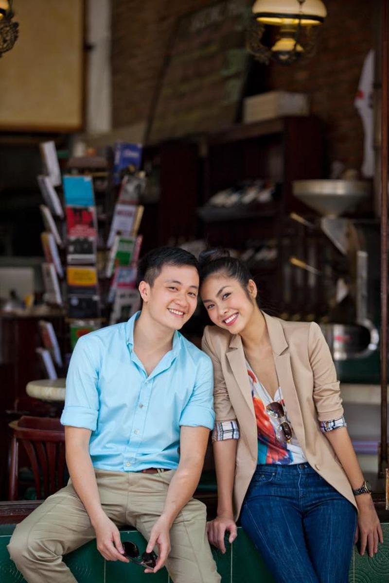 Còn Lương Mạnh Hải nhớ có những buổi đành phải hẹn 3-4 báo chụp 1 lúc và báo nào cũng bắt cười khiến cả hai cười mỏi miệng.