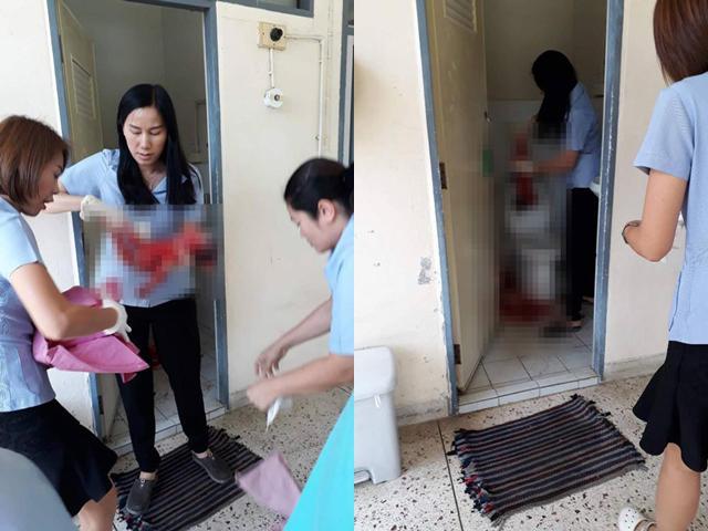 Thai phụ phải đẻ con trong nhà vệ sinh bệnh viện vì câu nói dửng dưng của bác sĩ