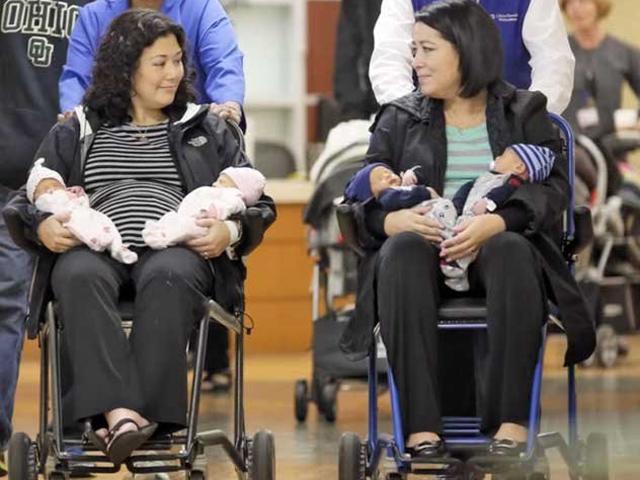 Hai chị em ruột mang thai, sinh con cùng ngày nhưng danh tính người bố mới gây bất ngờ