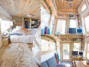 Độc đáo 'nhà gỗ di động' đầy đủ tiện nghi khiến nhiều người mơ ước