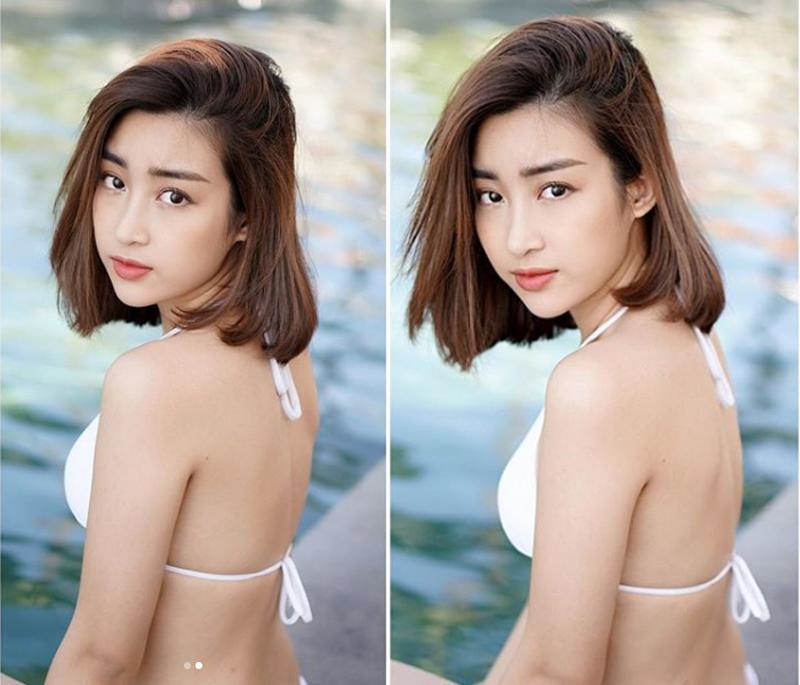 Nổi tiếng ngoan hiền, Đỗ Mỹ Linh ngày thường ăn mặc kín đáo đúng chuẩn nữ sinh. Giờ đây cô đa thay đổi ngoạn mục, khi cho thấy sự trưởng thành về phong cách thời trang, mới đây cô còn gây sốt mạng xã hội khi đăng ảnh bikini quyến rũ trên trang cá nhân.