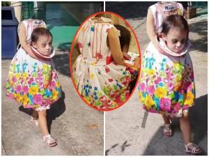Vượt xa các loại ma quỷ, cô bé ôm đầu đi xin kẹo gây bão MXH mùa Halloween