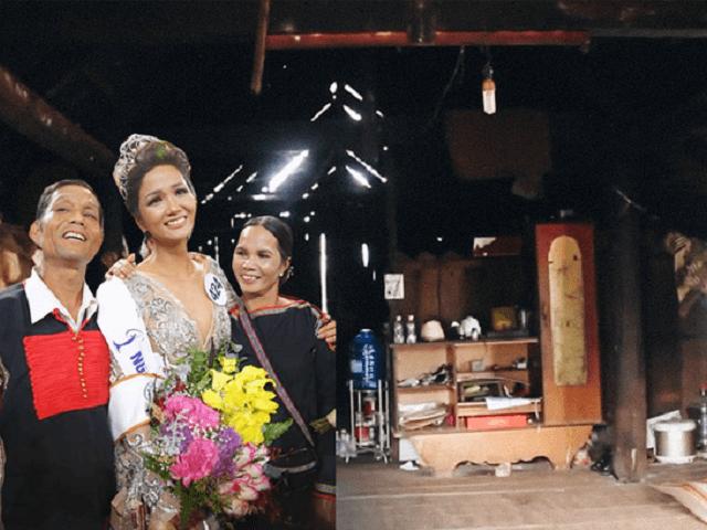 Nhà những hoa hậu Việt xuất thân cơ hàn: Bất ngờ khi HHen Niê chưa phải nghèo nhất!