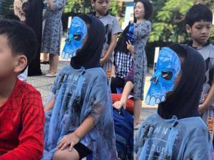 Cậu bé Hà Nội nhà không điều kiện vẫn tự chế đồ Halloween khiến dân mạng vừa tội vừa yêu