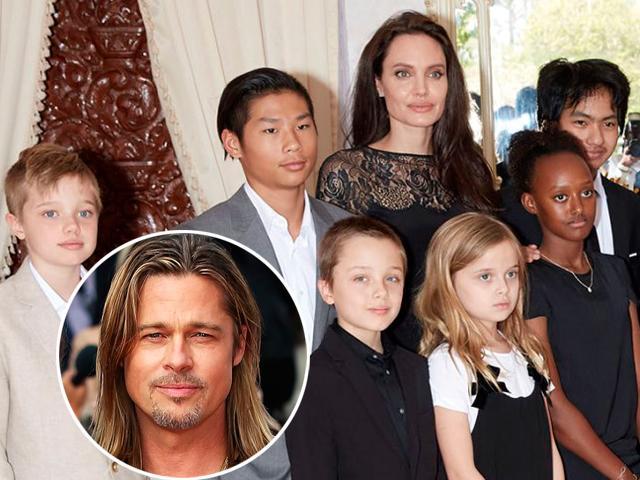 Không phải một mình Pax Thiên, cả 5 người con đều bỏ rơi Angelina, quyết ở với Brad Pitt