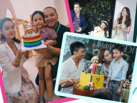 Dù đã ly hôn, một số cặp đôi sao Việt vẫn chấp nhận làm điều này vì con