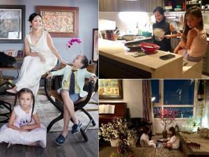 """Bỏ lại nhà triệu đô, mẹ con Hồng Nhung """"khăn gói"""" tới căn hộ nhỏ ấm cúng hậu ly hôn"""