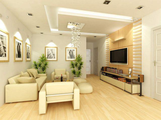 15 mẫu trần thạch cao phòng khách nhà ống cực đẹp, nhìn là mê!