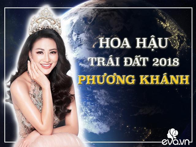 Từ giờ Việt Nam đã có một Hoa hậu Trái đất mang tên PHƯƠNG KHÁNH!