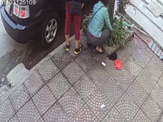 3 cô gái đi Range Rover trộm chậu nha đam gần chợ Ninh Hiệp?