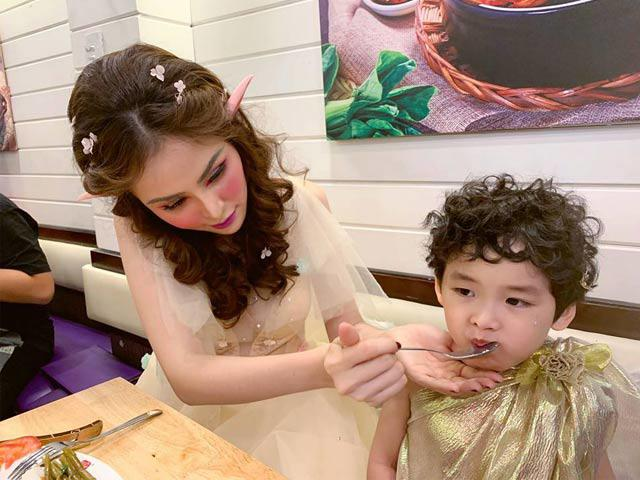 Sao Việt 24h: HH Diễm Hương phấn đấu thành mẹ chồng tâm lý, xinh đẹp nhất thế giới