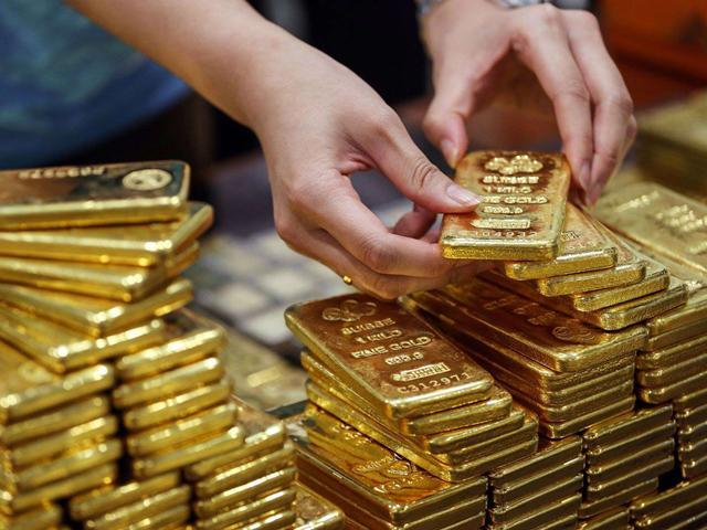 Giá vàng cuối tuần: Vàng giảm mạnh sau 3 tuần tăng liên tiếp