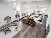 Choáng với căn hộ áp mái nghìn tỷ có phòng khách rộng ngang một bảo tàng