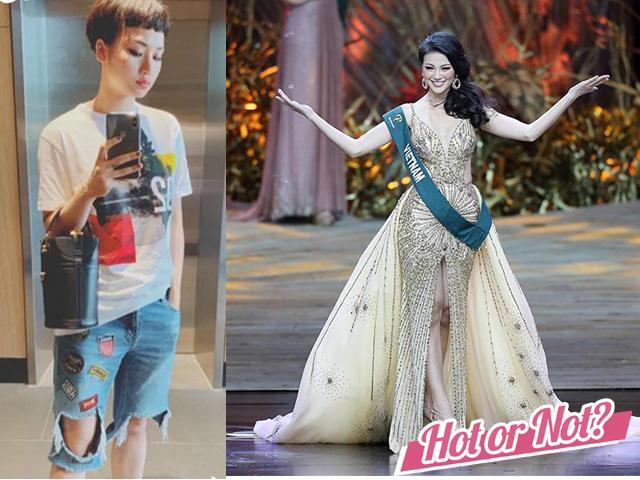 Tuần qua: Mặc váy phong thủy bảo sao Phương Khánh không thành Hoa hậu Trái Đất