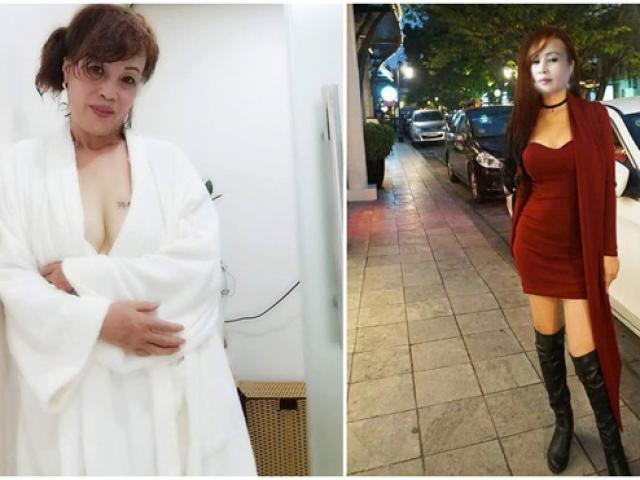 Cô dâu 62 tuổi liên tục khoe ngực hở táo bạo, chồng trẻ 26 phản ứng bất ngờ