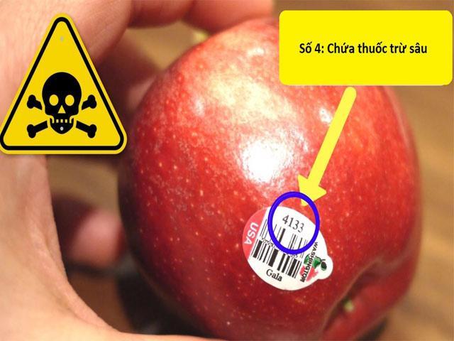 Nếu trái cây có mã code bắt đầu bằng số này, bà nội trợ cần suy nghĩ kỹ khi mua